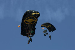 Skydiving show