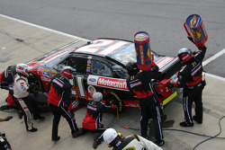 Pit stop for Jon Wood