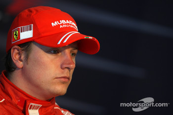 Post-qualifying press conference: second place Kimi Raikkonen
