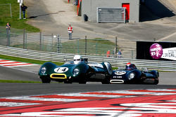 #14 Graham Bryant, and Oliver Bryant, Lotus 15; #37 Philip Walker, and Danny Wright, Lotus 15