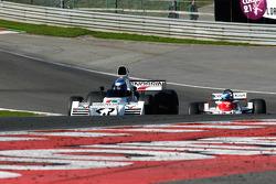 #23 Paul Knapfield, Brabham BT42; John Grant, Shadow DN9A, 1978