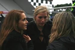 A trio of Superleague hostesses