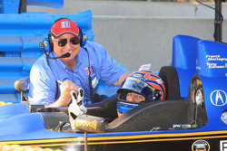 Tony Kanaan and Dick Martin