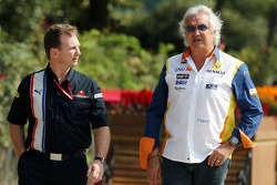 Christian Horner, Red Bull Racing, Sporting Director, Flavio Briatore, Renault F1 Team, Team Chief, Managing Director