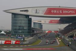 Lewis Hamilton, McLaren Mercedes on the parade lap