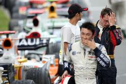 Kazuki Nakajima and Sébastien Bourdais