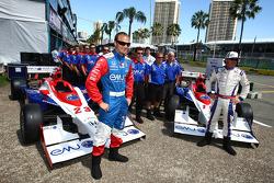 Dreyer & Reinbold Racing team photo shoot