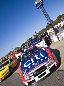 The Citi Financial Ford sits on pit road