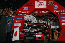 Fumio Nutahara and Hakaru Ichino, Mitsubishi Lancer Evo X