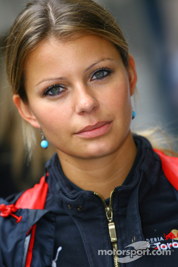 Denise de Santi, Scuderia Toro Rosso Press Officer