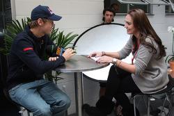Sebastian Vettel, Scuderia Toro Rosso and Tamara Ecclestone, Daughter of Bernie Eccelestone