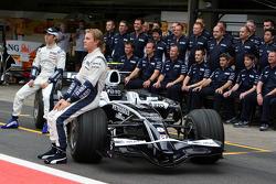 Kazuki Nakajima, Williams F1 Team, Nico Rosberg, WilliamsF1 Team