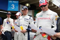 Sebastian Vettel, Scuderia Toro Rosso, Timo Glock, Toyota F1 Team, Nico Rosberg, WilliamsF1 Team, Adrian Sutil, Force India F1 Team