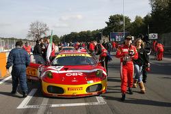 BMS Scuderia Italia Ferrari F430, Matteo Malucelli and Paolo Ruberti