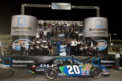 NASCAR-NS: Championship victory lane: 2008 NASCAR Nationwide Series owner's champion  Joe Gibbs Racing