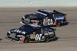 Clint Bowyer and Regan Smith