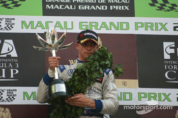 Podium: second place Edoardo Mortara