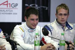 Post-qualifying press conference: Loic Duval, driver of A1 Team France