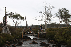 Launceston, Australia: Chris Bradford and Mark Padgett of Team Driza-Bone Activ in action