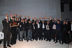 BMW drivers with the prize winners