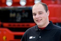 MAN Rally Team: Jan van der Laar, service truck 4X4