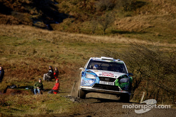 Valentino Rossi and Carlo Cassina, Stobart VK M-Sport Ford Rally Team Ford Focus RS WRC 07