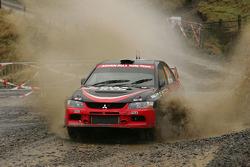 Fumio Nutahara and Danier Barritt, Mitsubishi Lancer Evo X