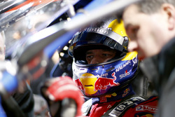 Sébastien Loeb, in cockpit