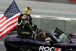 Drivers presentation: Carl Edwards and Tanner Foust, Team USA