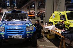 Rally Raid UK Desert Warrior at scrutineering