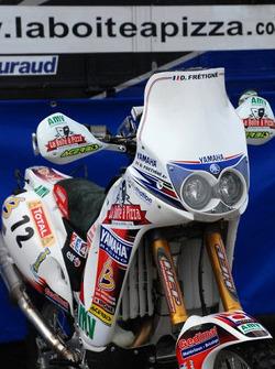 Fret-Motorsport: the Fret-Motorsport Yamaha 450cc of David Frétigné