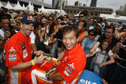 Luc Alphand and Hiroshi Masuoka