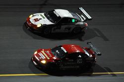 #30 Racers Edge Motorsports Mazda RX-8: Dane Cameron, Doug Peterson, Bryan Sellers, Dion von Moltke, #88 Farnbacher Loles Racing Porsche GT3: Steve Johnson, Dave Lacey, Robert Nearn, Richard Westbrook