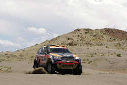 #302 BMW X3 CC: Nasser Saleh Al Attiyah and Tina Thorner
