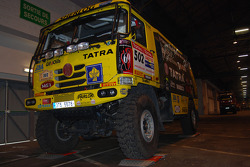 #502 Tatra T815-2 ZOR45 of Ales Loprais, Vojtech Stajf and Milan Holan