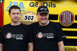 Loprais Tatra team members