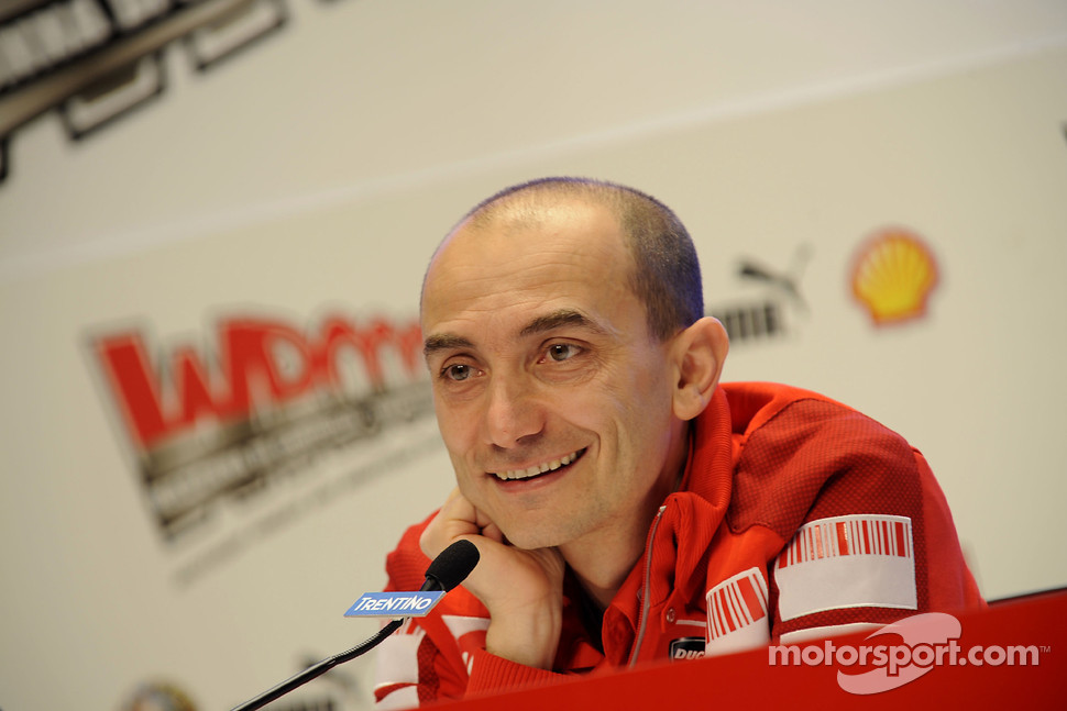 Press conference: Claudio Domenicali, Ducati