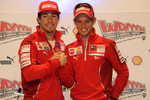 Press conference: Nicky Hayden and Casey Stoner, Ducati