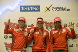 Press conference: Nicky Hayden, Casey Stoner and Vittoriano Guareschi, Ducati