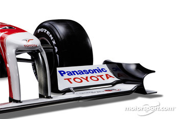 Detail of the new Toyota TF109