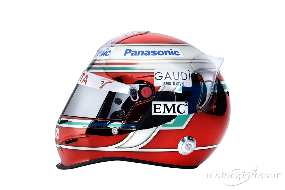 Helmet of Jarno Trulli