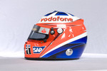 Helmet of Gary Paffett