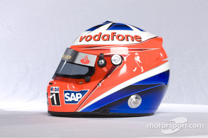 Helmet of Gary Paffett