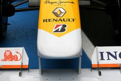 Nose detail of the new Renault R29