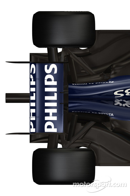 Detail of the new Williams FW 31