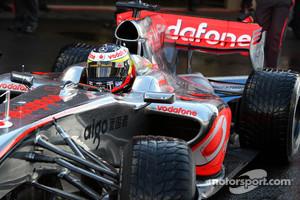 Former McLaren test driver Pedro de la  Rosa signed for HRT