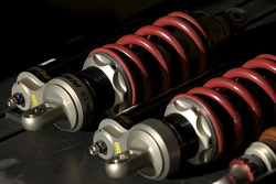 Brumos Racing Porsche Riley suspension parts