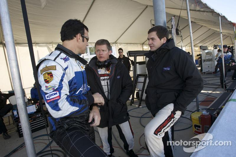 Spencer Pumpelly, Emmanuel Collard and Richard Lietz