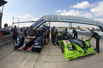 #66 de Ferran Motorsports Acura ARX 02a Acura and #9 Patron Highcroft Racing Acura ARX 02a Acura