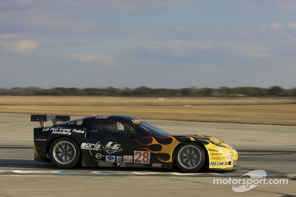 #28 LG Motorsports Chevrolet Riley Corvette C6: Lou Gigliotti, Tomy Drissi, Randy Ruhlman, Marc Goossens
